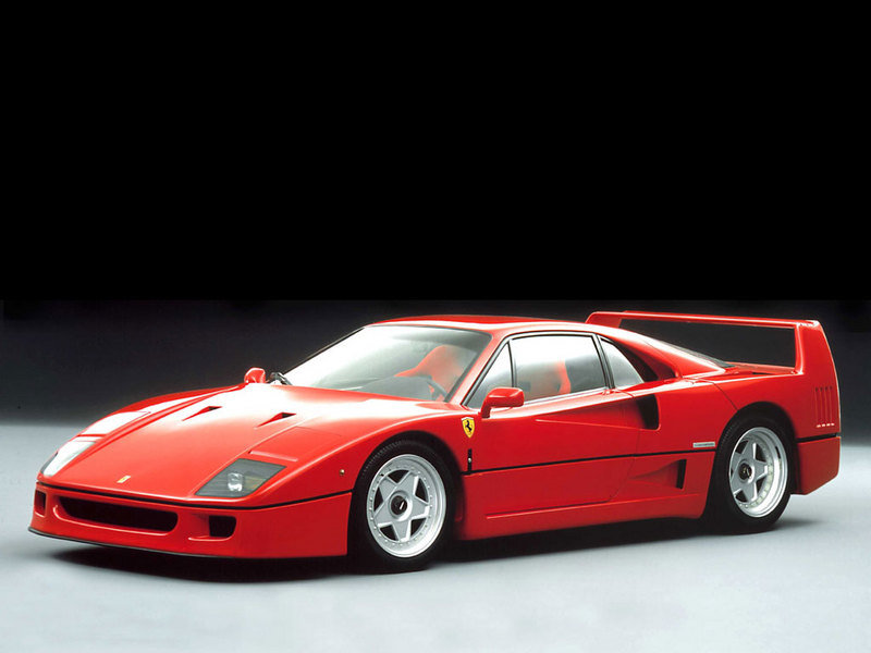 Alain Prost's Ferrari F40 to be auctioned