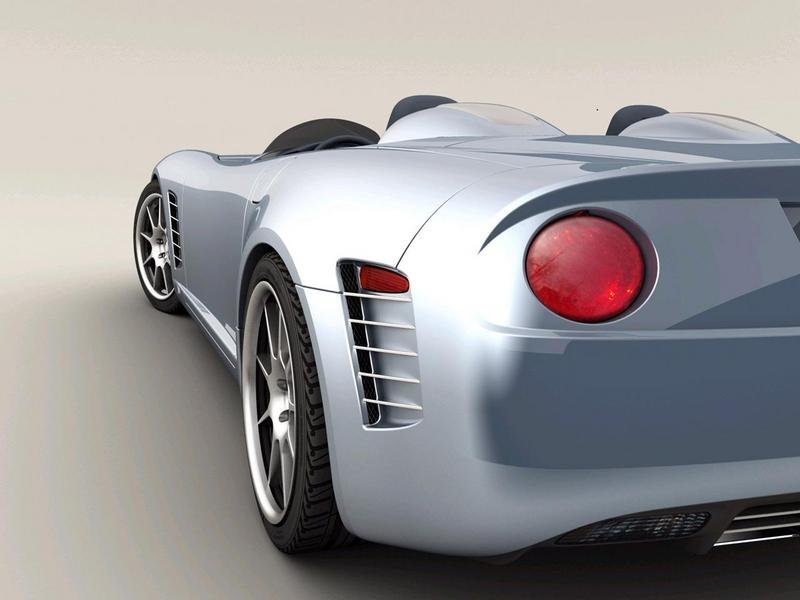 Callaway C16 Speedster - world debut at the Concours d'Elegance