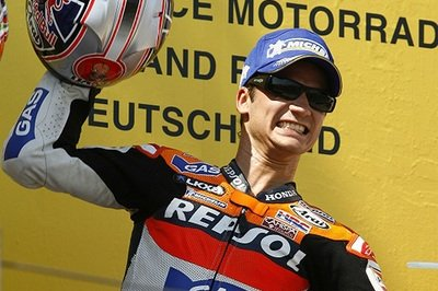 Dani Pedrosa wins the German Moto Grand Prix.