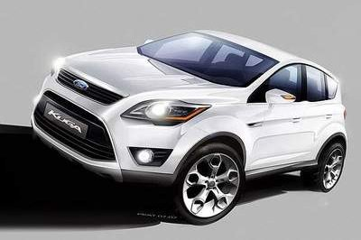 Ford Kuga - Ford's first hybrid in Europe