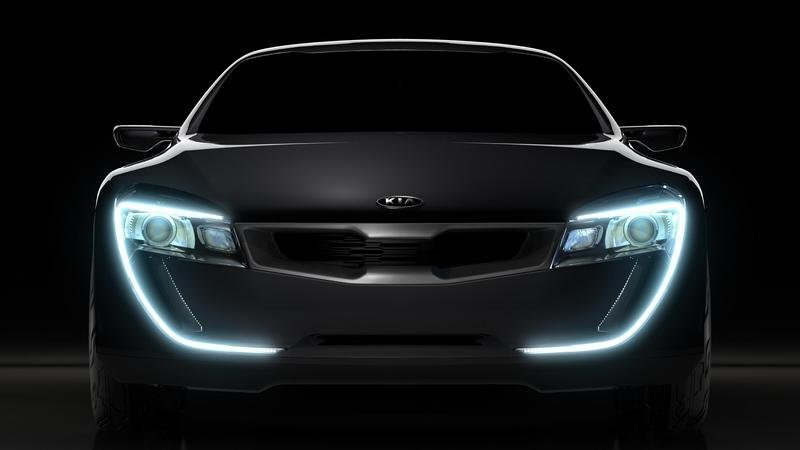 Kia will unveil Sports Coupe Concept Car At Frankfurt Show