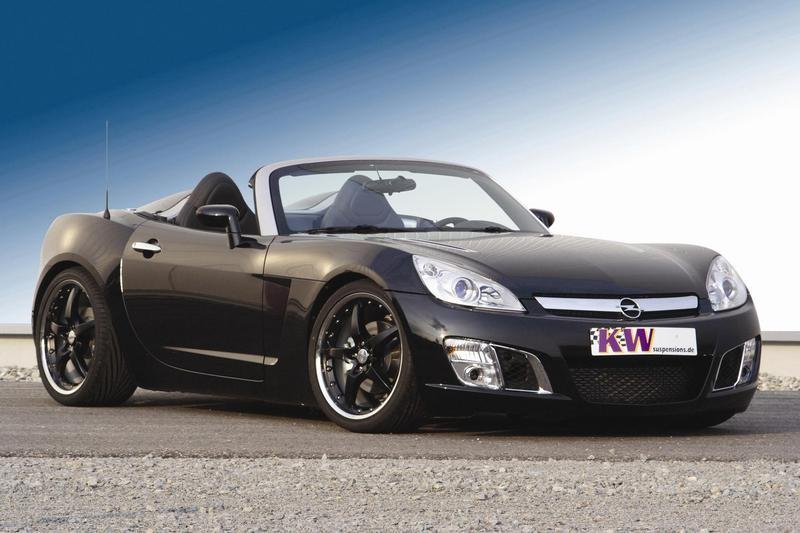 KW coilover suspension V3 for Opel GT