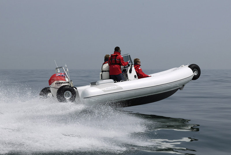 Sealegs amphibious boat is heading into full production