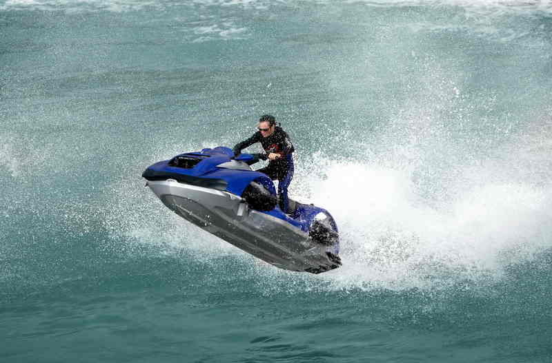 The first amphibian ATV - Quadski