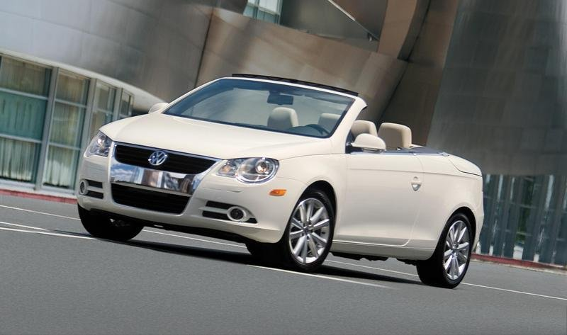 Volkswagen Eos - one of the top 10 sexiest cars for 2007