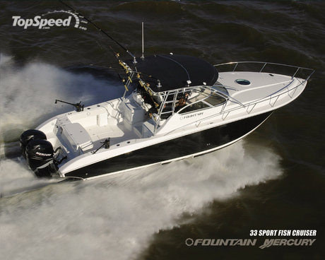 fountain mercury 33 sportfish cruiser picture