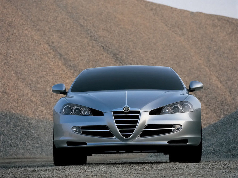 2008 Alfa Romeo Visconti Concept by Italdesign