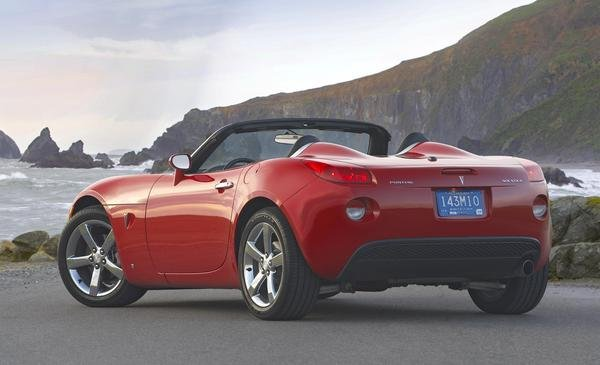 2008 Pontiac Solstice Car Review Top Speed