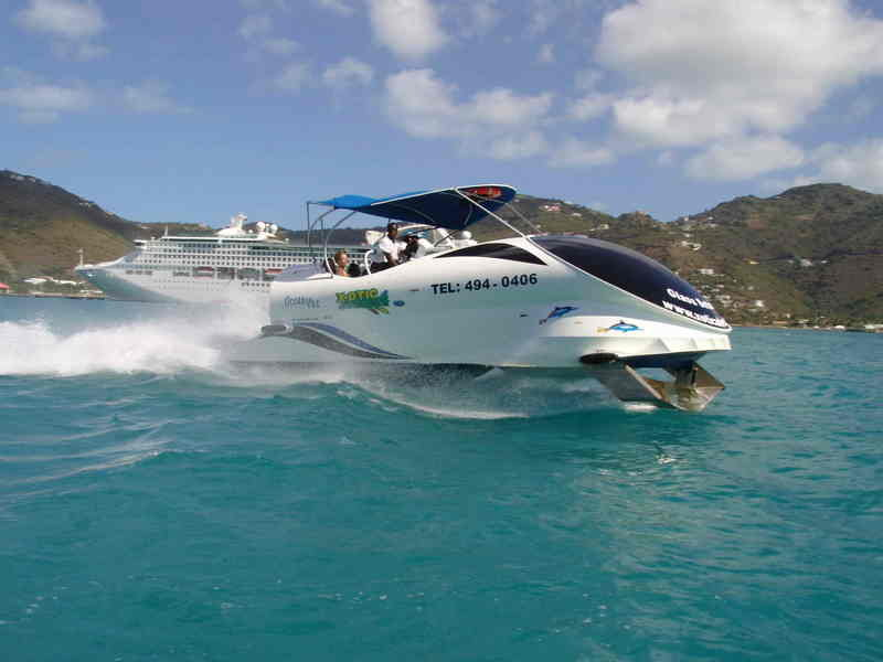 A new way to enjoy cruising on water