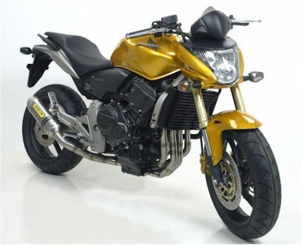 arrow exhaust for 2007 honda hornet 600 picture