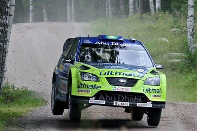 Markus Gronholm wins home rally