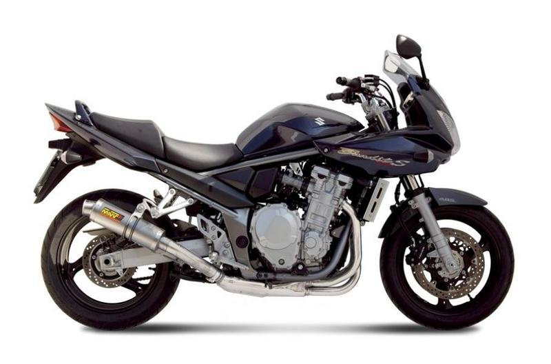 MIVV Exhaust for 2007 Suzuki Bandit 1250