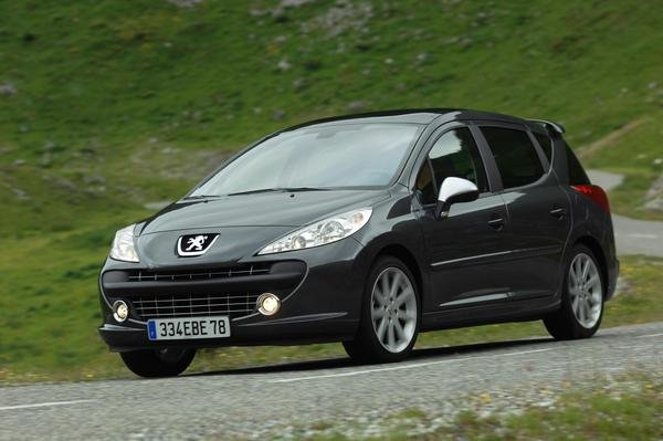 2007 peugeot 207 sw rc car review top speed. Black Bedroom Furniture Sets. Home Design Ideas