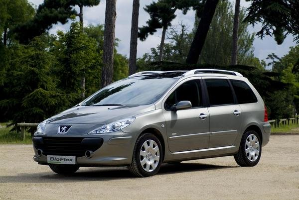 2007 peugeot 307 sw bioflex car review top speed. Black Bedroom Furniture Sets. Home Design Ideas
