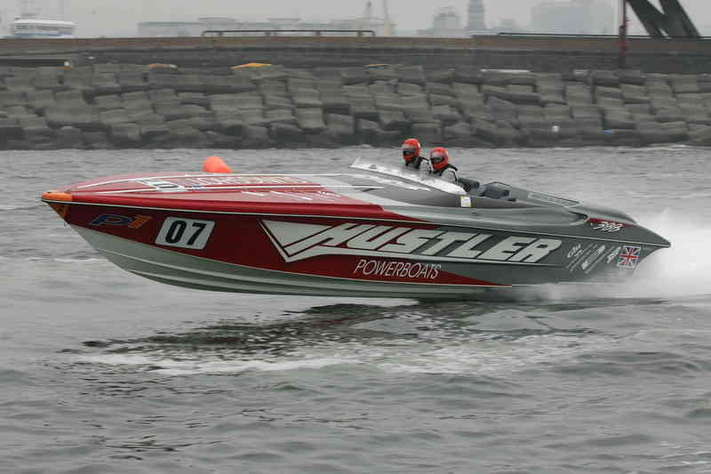 Powerboat racing attracts another UK celebrity