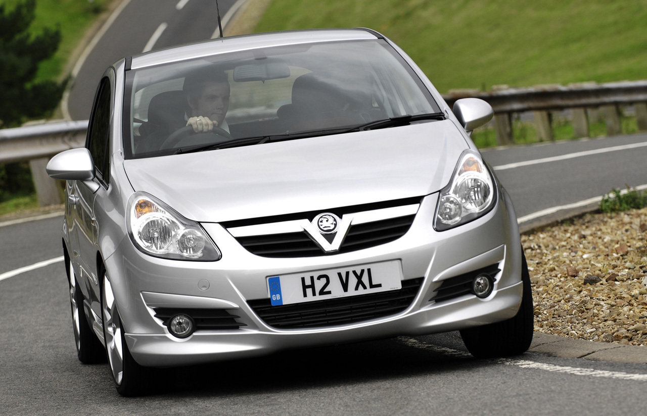 Vauxhall Corsa on the Road