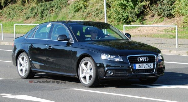 audi s4 spy shots picture