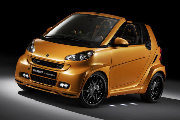 brabus ultimate 112 smart fortwo picture