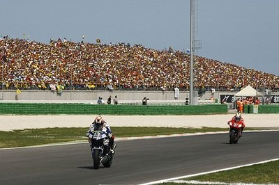 Casey Stoner claims another victory in the San Marino Grand Prix