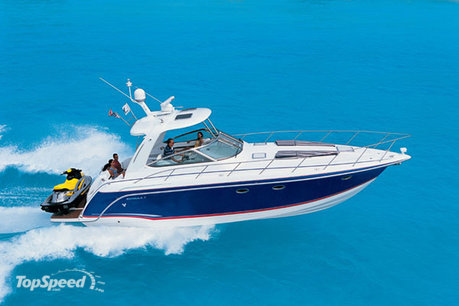 The unique style and design of the 34 Performance Cruiser has been refined ...