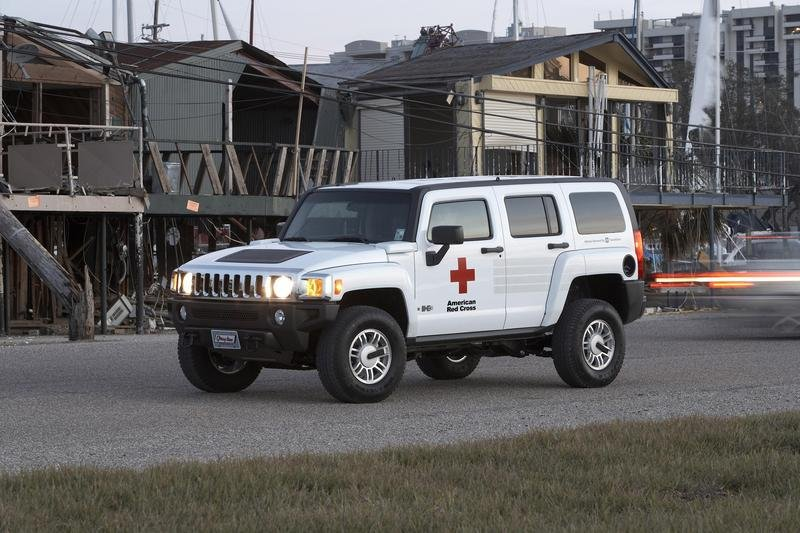 2007 HUMMER H3 Red Cross Edition