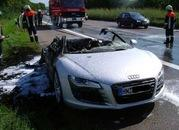 In Flames! hidraulic problem on the Audi R8? - image 196397