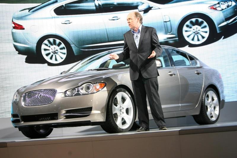 Jaguar XF made it's Frankfurt debut