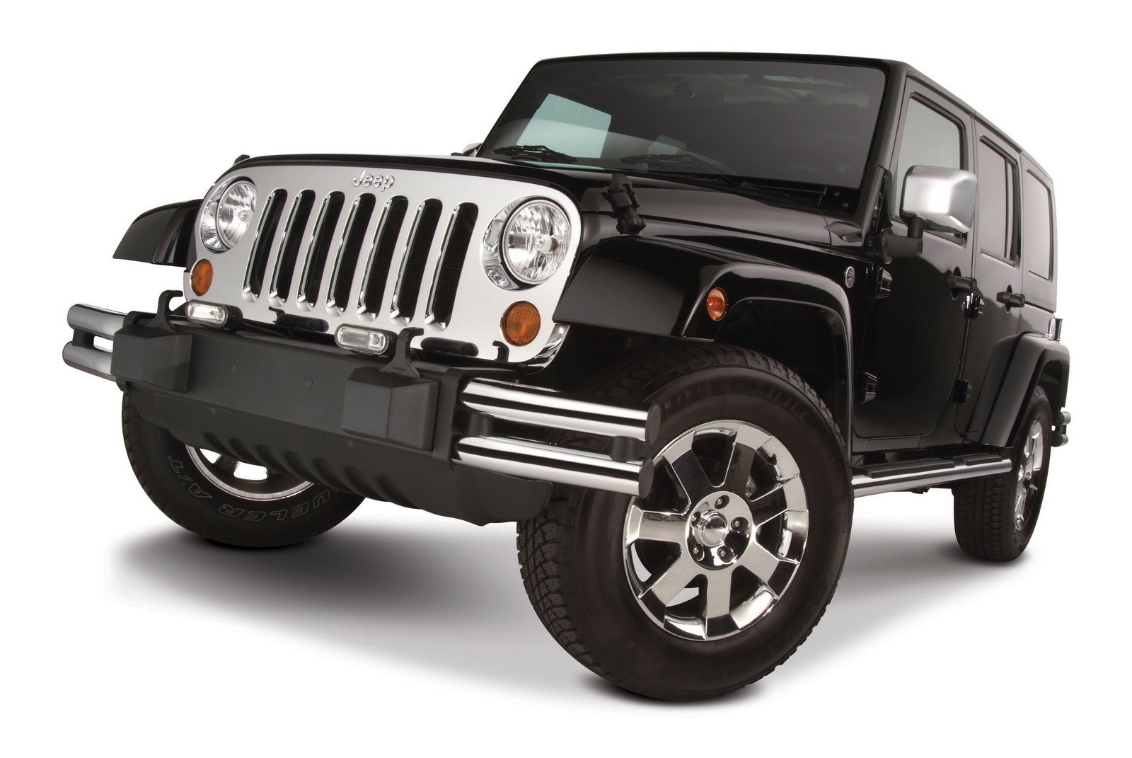 Jeep Wrangler Gets Mopar Chrome Grille News Top Speed