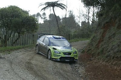 Marcus Gronholm wins the New Zealand Rally