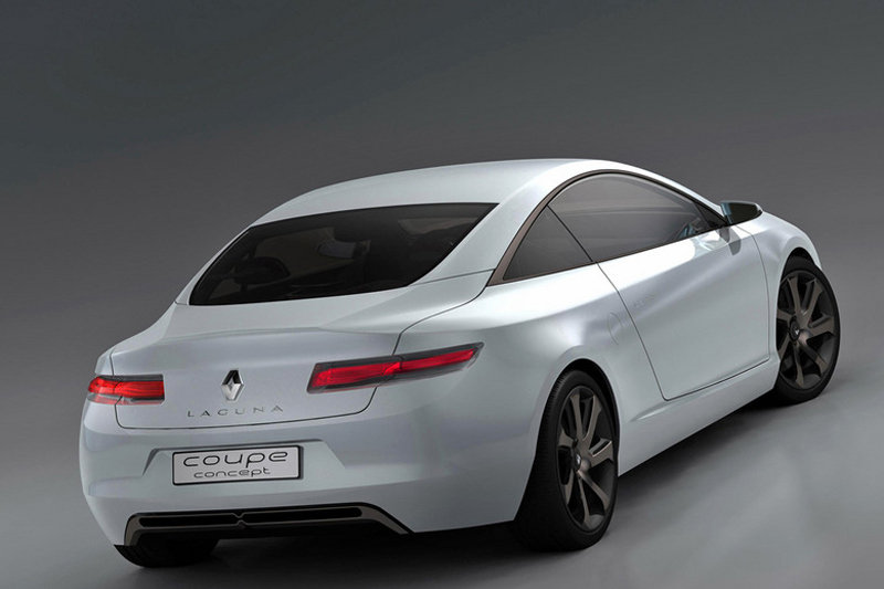 Renault Laguna Coupe Concept first official images