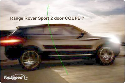Secret Land Rover Concept to be unveiled in Frankfurt: Sport Coupe ?