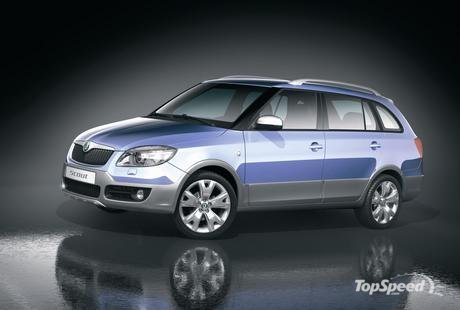 Skoda Octavia Scout Pictures. Octavia Scout and Roomster