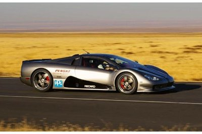 SSC Ultimate Aero Twin Turbo at 255 mph