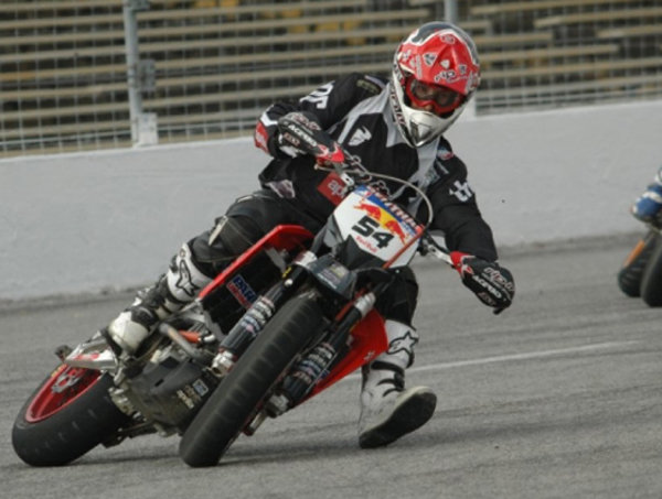 the factory aprilia rip-it energy racing supermoto team win in nashville picture