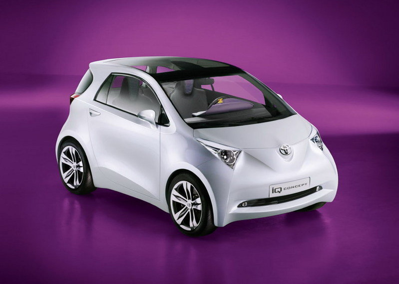 Toyota IQ into production starting 2009