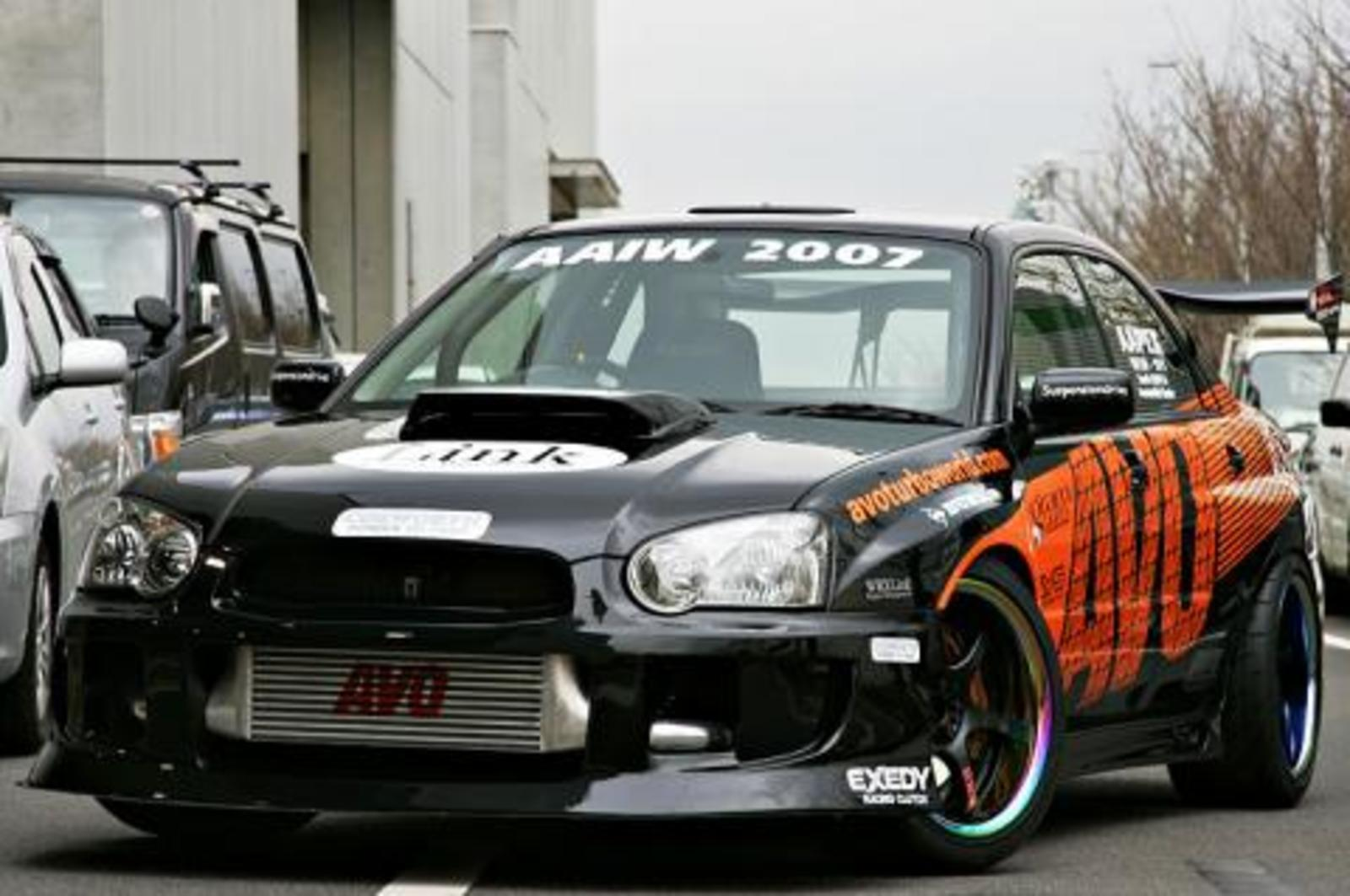 2005 impreza wrx sti by avo turboworld news top speed. Black Bedroom Furniture Sets. Home Design Ideas