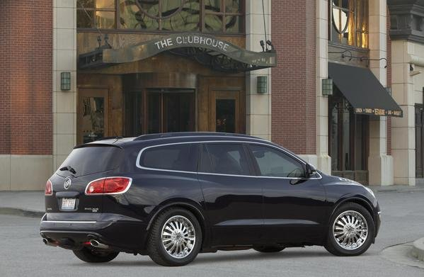 2008 Buick Enclave Black Platinum Edition Car Review