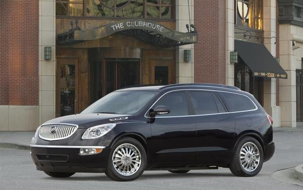 2008 Buick Enclave Black Platinum Edition Review Top Speed