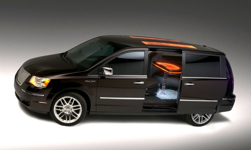 2008 Chrysler Town and Country Black Jack