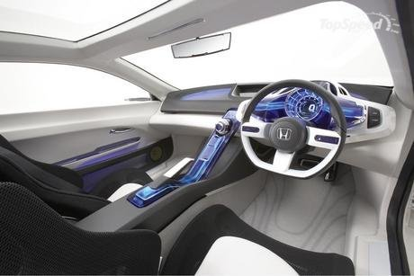 Honda Cr Z Interior. The key words for the CR-Z#39;s