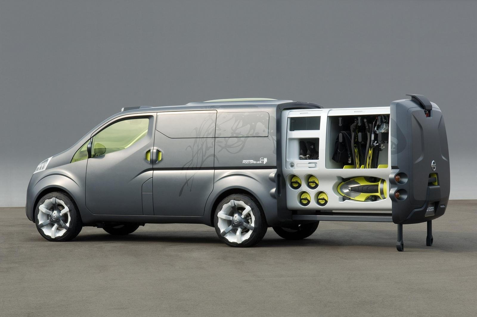 2008 nissan nv200 picture 204637 car review top speed. Black Bedroom Furniture Sets. Home Design Ideas