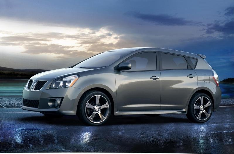 2009 Pontiac Vibe first official image