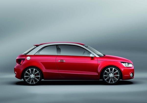 2007 audi a1 metroproject quattro concept car review top speed. Black Bedroom Furniture Sets. Home Design Ideas