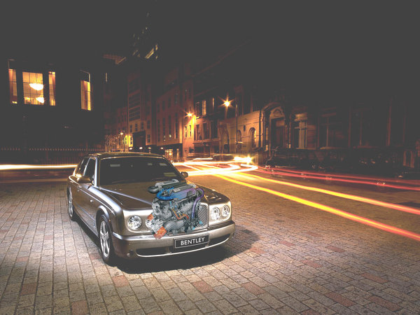 bentley arnage powered by veyron engine in the works picture