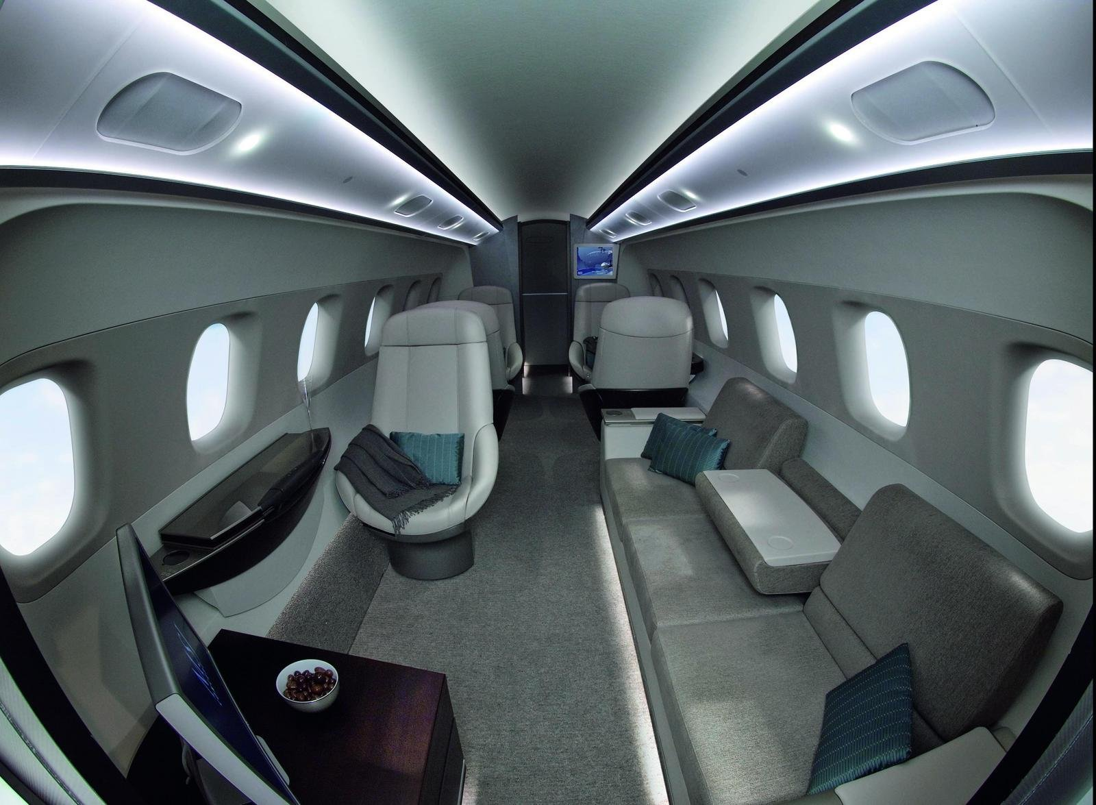 Bmw designs aircraft interior picture 207127 car news for Aircraft interior designs