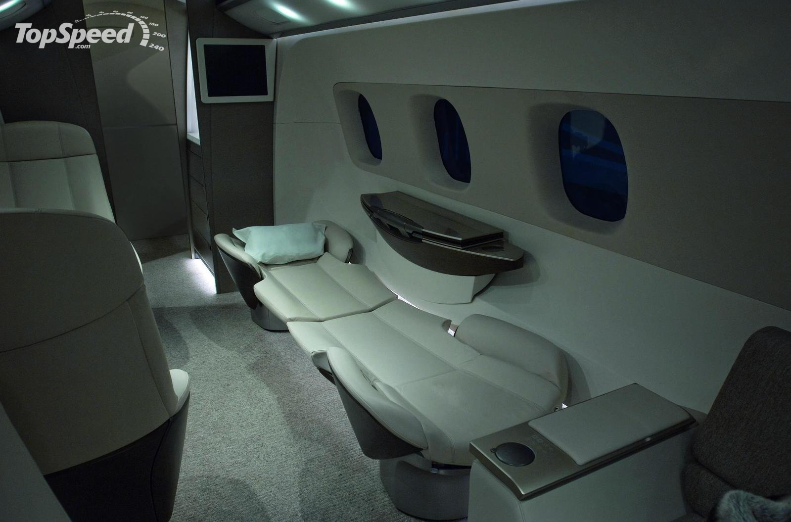 Bmw designs aircraft interior picture 207128 car news for Aircraft interior designs