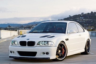 BMW M3 Black And White Tuning