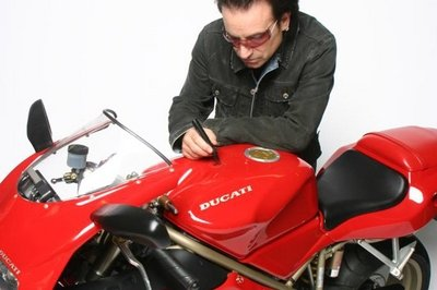 Bono's bike to be auctioned at the International Motorcycle and Scooter Show
