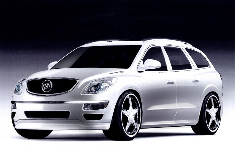 Buick Enclave Urban CEO Edition 50 Cent's G8 coming at SEMA