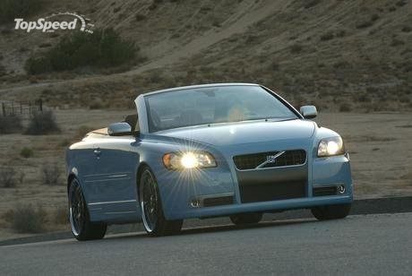 Volvo unveiled today at 2007 SEMA the Caresto C70, a model built as a